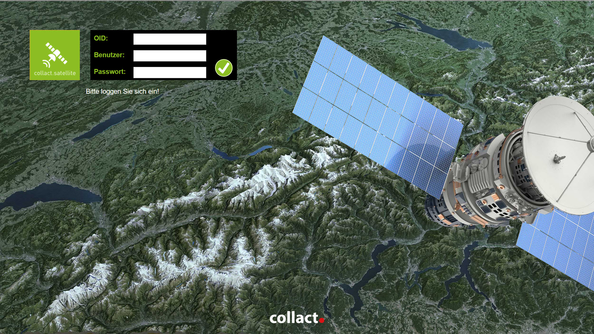 collact.satellite - Lagekarte